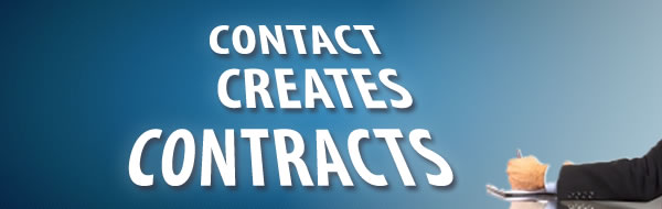 Contact Creates Contracts